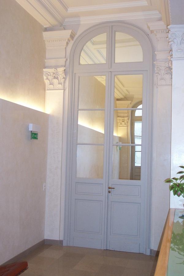 R alisations menuiseries ext rieures int rieures monuments historiques men - Hauteur porte interieur ...